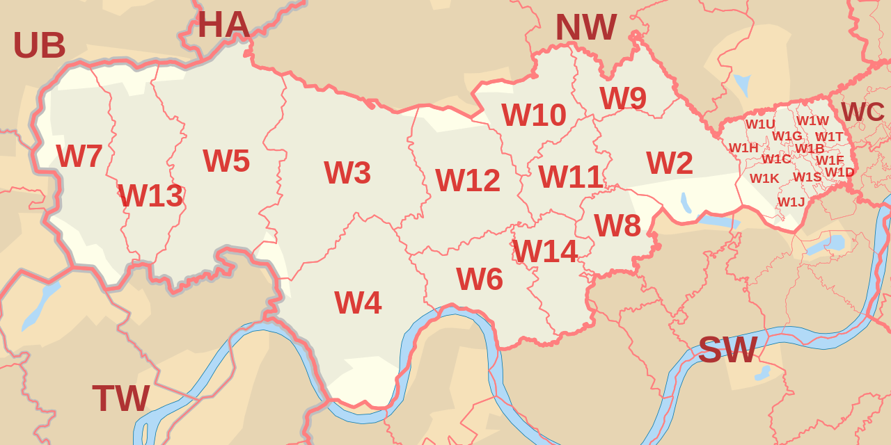 west-london-postcode-map